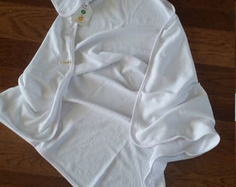 Infant Embroidered Hooded Bath Towel