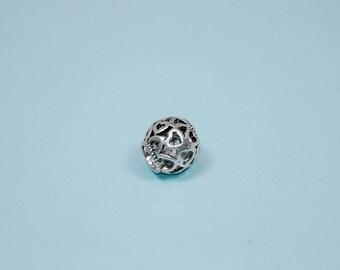 Full of Love -- Heart Bead for Pandora Charm Bracelets