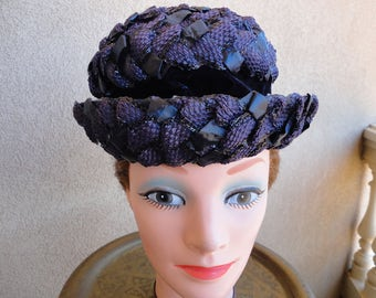 Navy Blue Valerie Modes Hat