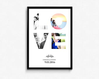 Downloadable LOVE Collage