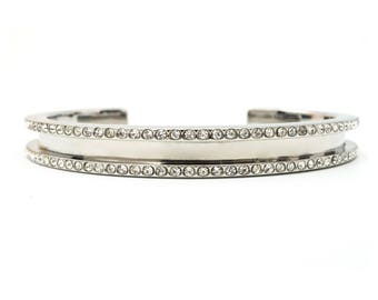 Hair Tie Bracelet, Hair Tie Bracelet Holder - Allure Design Silver