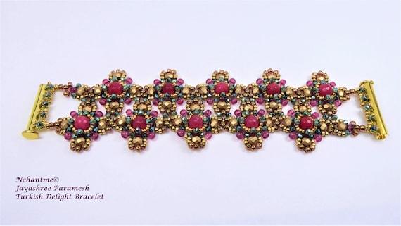 Turkish Delight Bracelet and Earrings Kit