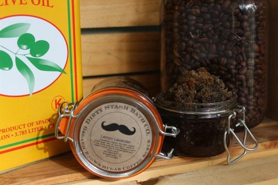 Organic Brown Sugar Coffee Scrub Caribbean Coconut 5 & 9 ozs