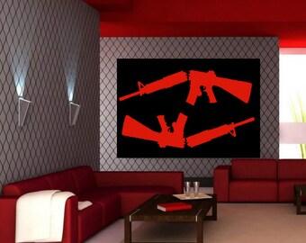 Modern Dark Pop Art Large Wall Sculpture