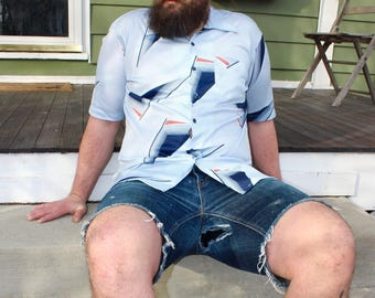70's Vintage Men's Leisure Shirt
