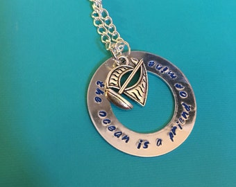 The Ocean Is A Friend Of Mine Moana Necklace