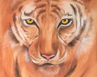 Tiger eye - original acrylic
