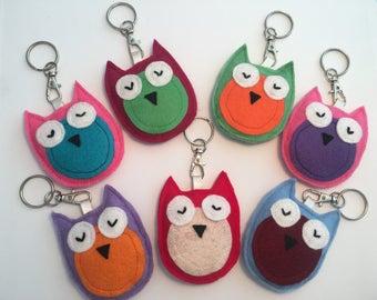 Owlie Key Chain / Bag Buddy