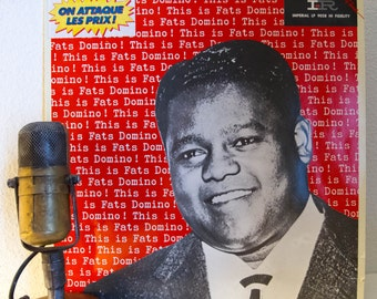 """Fats Domino Vinyl Record Albums LPs 1950s Mid-Century Piano Rhythm and Blues Piano New Orleans Roots Rock """"Boogie Woogie Baby"""" (1985 Ace)"""