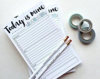Today is Mine Notepad - 2 Pack