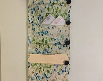 4 Pocket hanging file folder organizer wall organizer wall pocket