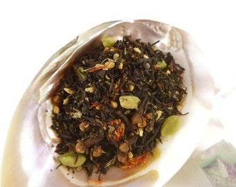 1 oz Bite Me -  Black Tea - loose leaf tea - chai - apple chai