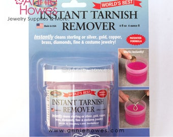 Instant Tarnish Remover or Jewelry Cleaner. Your choice of tarnish remover or jewelry cleaner.