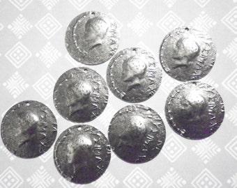 8 European Coin Charms