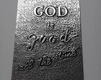 Dieu est bon - carte