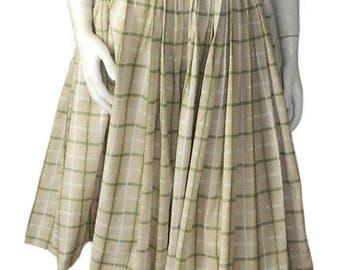 Vintage 1950's Cotton Summer Dress