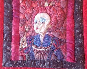Red Queen Quilt Square