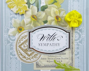 With Sympathy 2018 Card Handmade