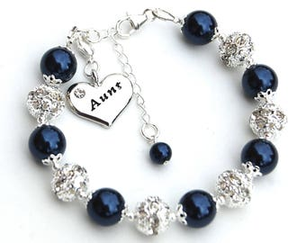 Aunt Gift, Aunt Jewelry, Aunt Bracelet, New Aunt, Gift for Aunty, Pregnancy Reveal, Aunt to Be Gift, Aunt Present, Promoted to Aunt