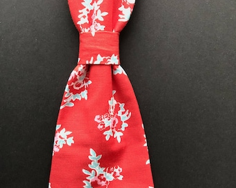Stop and Smell the Roses  Adjustable Neck Tie
