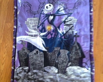 Halloween Themed wall hanging 32 x 39 inches..Ready to ship only one available
