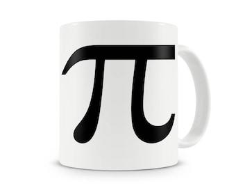 Pi Symbol minimal math mug