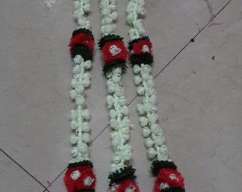 Pair of Mogra Flower Strings