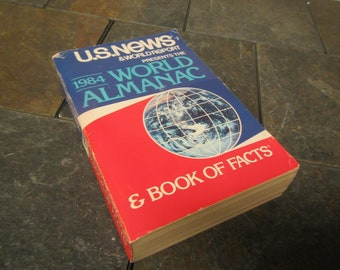 1984 The WORLD ALMANAC and Book of Facts * U.S. News and World Report