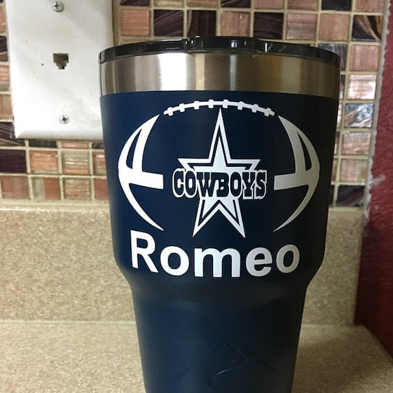 Dallas cowboys decal, football decal, Dallas decals, Cowboys decals,  sports decals, yeti decals Football, Texas football decals,