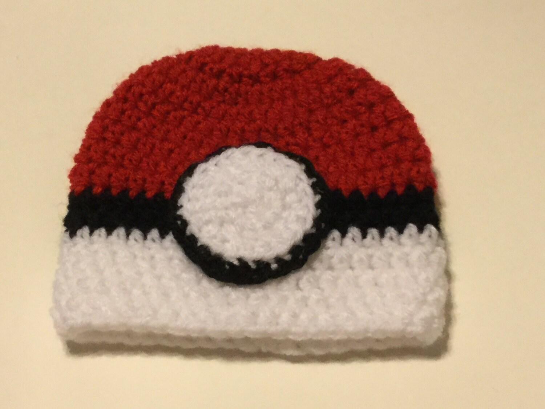 Poke-Beanie Pokemon-inspirierten häkeln Hut Hut häkeln