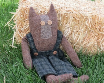 Pierre Puddy Cat Wool Cat Doll Handmade Cat Doll