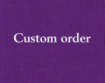 Custom Order for L H