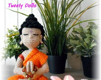 Tutorial to make Buddha by Tweety Dolls Dutch or french hook