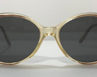 1970's   Vintage Sunglasses   brown/beige