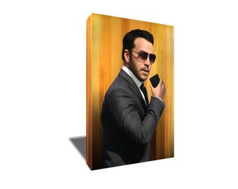 FREE SHIPPING Ari Gold The Gold Standard Poster Portrait on Canvas Art