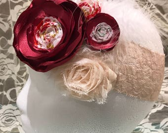 Girls vintage headband