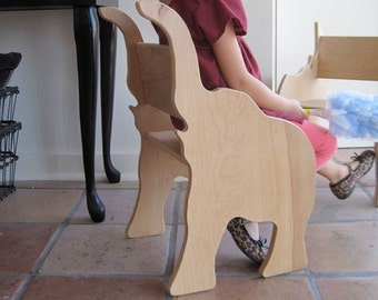 Elephant Chair -Ready to Ship- from The Child's Menagerie Furniture Collection by Paloma's Nest