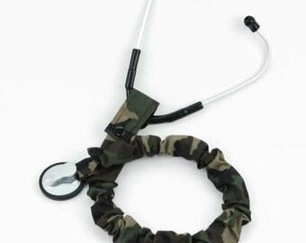 Stethoscope Cover, Stethoscope Covers, Student Nurse, Nursing Student, Stethoscope Sock, Medical Student, Army Camouflage Fabric, Medic, EMT
