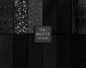 black textures black digital paper black backgrounds black papers black glitter balck leather