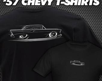 T-Shirt 1957 Chevy design '57 Chevrolet Bel Air Del Ray Coupe