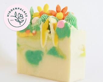 Cactus Garden | Cold Process Soap Bar