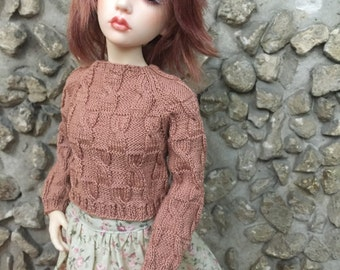 For BJD MSD knitted sweater
