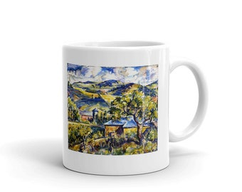 Maine Landscape c. 1917–1921, Mug made in the USA