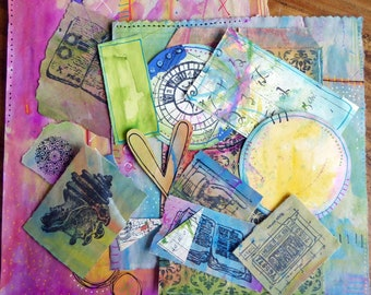 Painted Paper Journal Pack