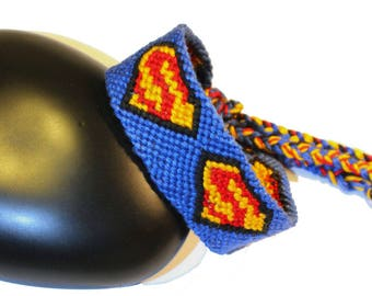 "Friendship Bracelet, model ""Super-man"""