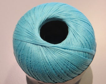 Thread 100% Mercerized cotton, 50g, 260 m, various colors to choose