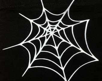 Fusible Halloween Spider Web pattern
