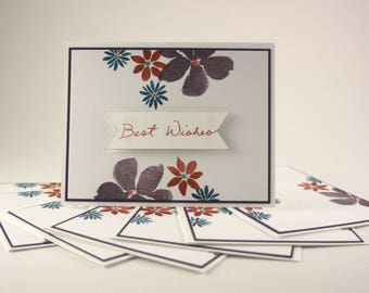 Flowery Notecard Set / BS011A