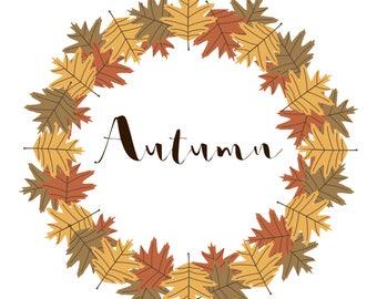 Autumn print download