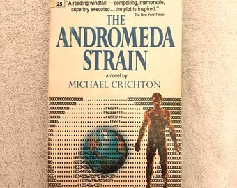 Vintage The Andromeda Strain Book
